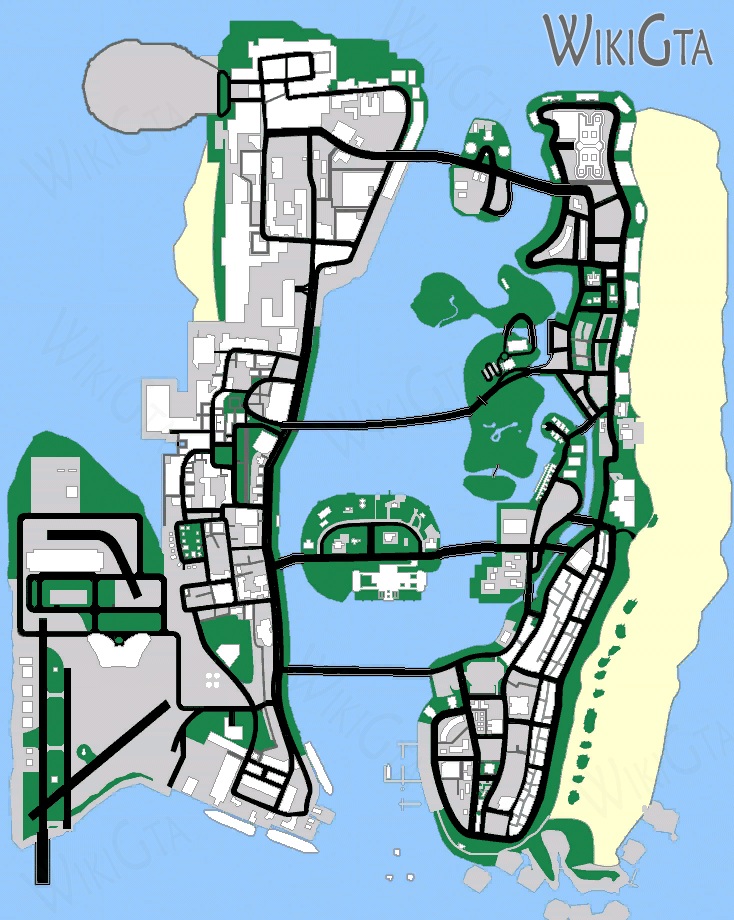 GTA SnapMap - Vice City - Map of Grand Theft Auto VC